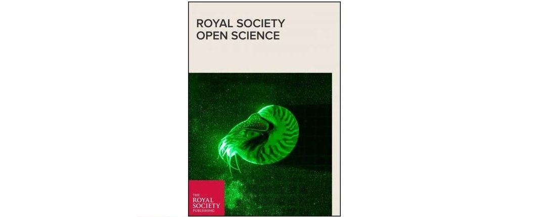 New Paper on Royal Society Open Science